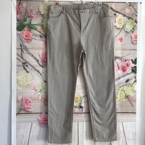 Light Grey Denim Jeans Stretch 18